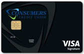 Visa Signature Reward Card Sample