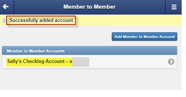 m2m-screenshot confirmation message member account was added